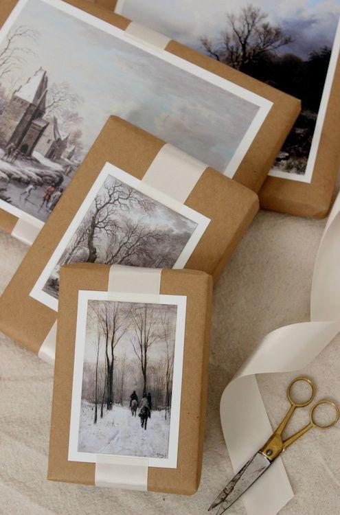 Pacchetti regalo con foto #pacchetti #pacchetto #regalo #regali #originali #Natale #compleanno #incartare #foto
