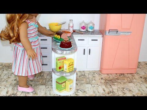 American Girl Doll Kitchen Counter DIY   American Girl Ideas   American Girl Ideas