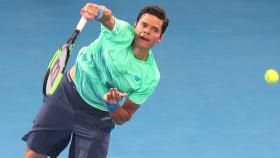 The first match of the 2017 ATP World Tour season for Milos Raonic started on a winning note defeating Diego...