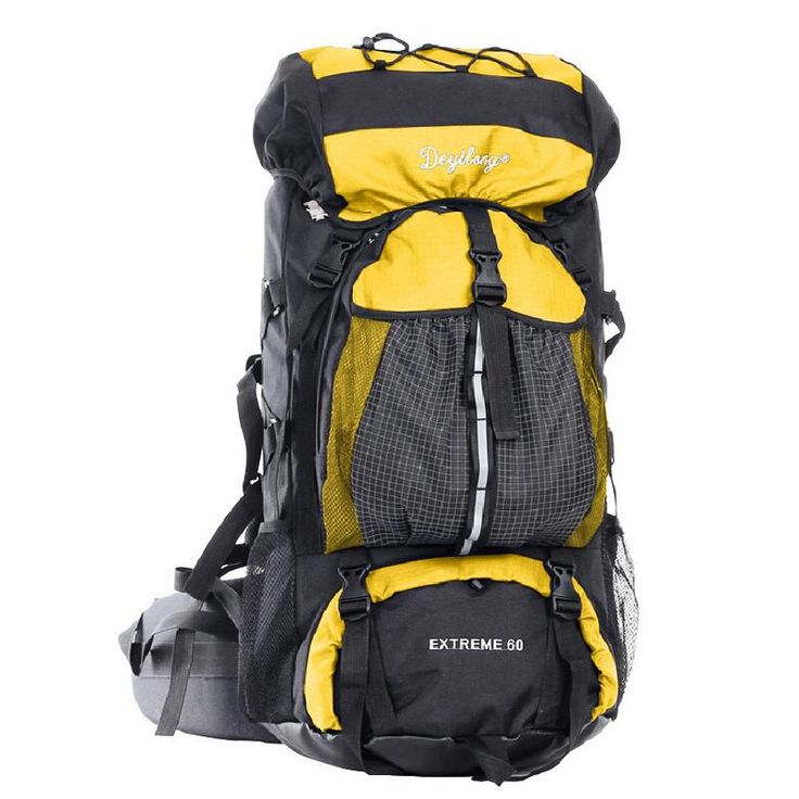 Large capacity Outdoor package mountaineering backpack women and men hiking bag luggage bag travel backpack 60L