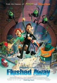 Love this movie! Hugh Jackman and Kate Winslet do the voices. Hilarious!