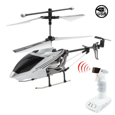 3CH Metal Structure Mini Infrared R/C Move Motion Helicopter with Light, Built-in Gyroscope, Size: 250 x 130 x 50mm