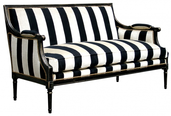 gilles nouailhac stripe sofa stripes pinterest. Black Bedroom Furniture Sets. Home Design Ideas