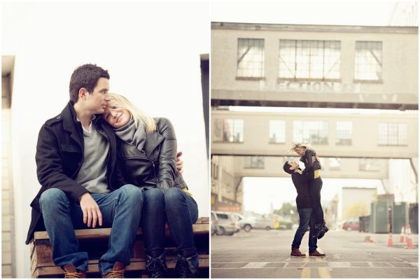 Boston Engagement Shoot -- These very well may be my favorite engagement photos... :D