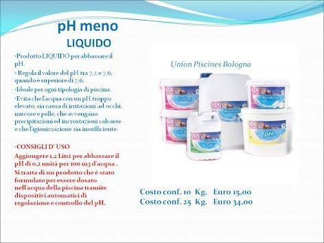 OG Pool Sistemi di dosaggio e controllo - Prodotti Chimici