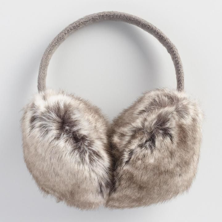 Faux Fur Earmuffs - Doesn't have to be this pair, I would just like some earmuffs.
