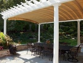 Pergola Pair Detail View 3 Canopy Extended Sold ByWalpole Outdoors & Best 25+ Screened canopy ideas on Pinterest | Outdoor shade ...