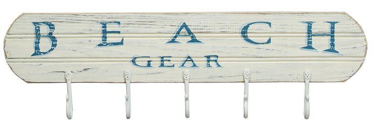 """Beach Gear Hook Board - 24"""""""