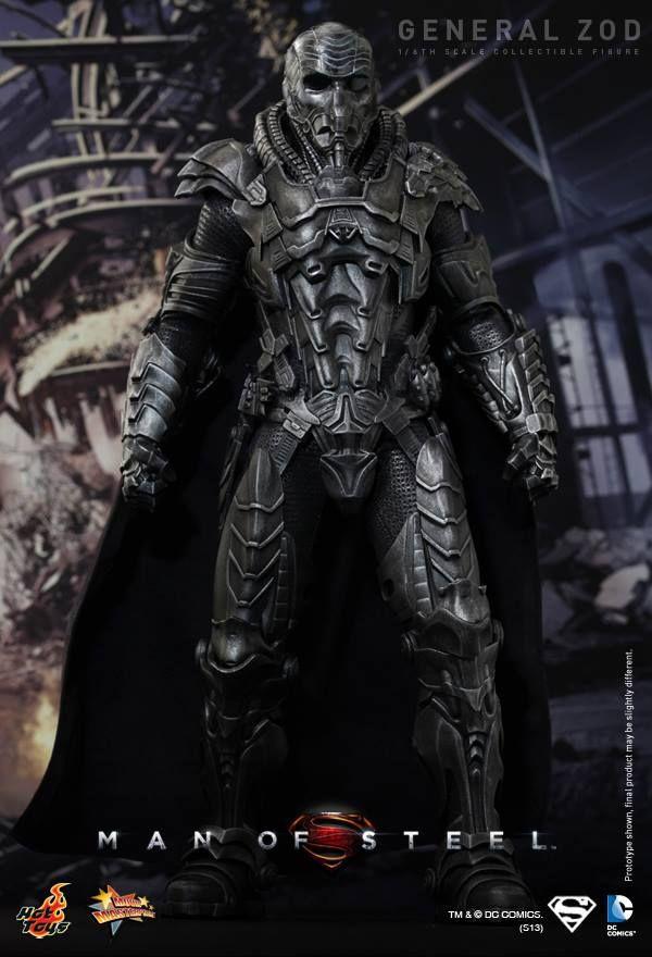 Zod figure with helmet (Man of Steel)
