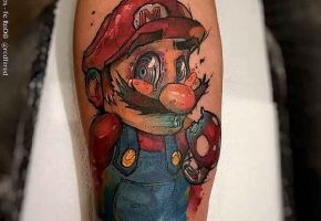 15 Geniale Super-Mario Tattoos