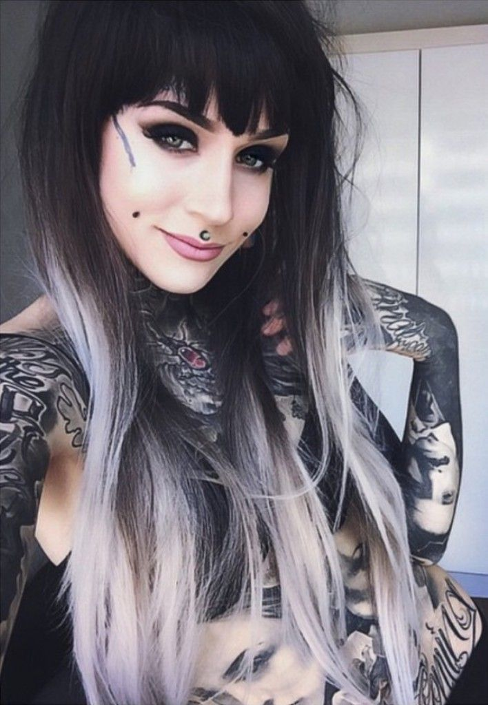 Pin By Tattoed Hotties On Tattooed Hotties  Monami Frost -6764