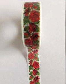 Vintage Rose bloemen Washi Tape (Japanse Tape, decoratieve zelfklevend, decoratieve Tape)