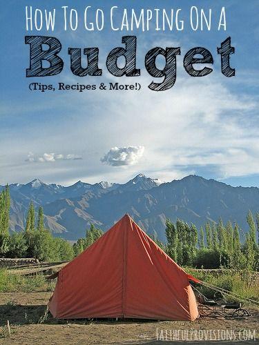 Camp on a Budget | Faithful Provisions