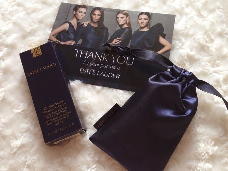 Glitter and Carousels: Ordering Online with Estee Lauder and a Double Wear Maximum Cover Review