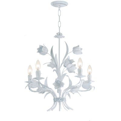 House of Hampton Fawley 4 Light Candle-Style Chandelier