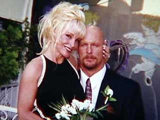 "On September 13, 2000, ""Stone Cold"" Steve Austin married Debra Marshall. The couple had a tumultuous marriage, which included Austin being arrested for domestic violence on August 14, 2002. In November 2002, he pled no contest and was given one year probation, a $1,000 fine, and community service. Austin filed for divorce from Marshall on July 22, 2002 and their divorce was finalized on February 5, 2003."