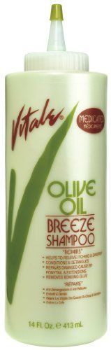 Vitale Olive Oil Breeze Shampoo 14 oz Pack of 2 -- Check out this great product.(This is an Amazon affiliate link and I receive a commission for the sales)