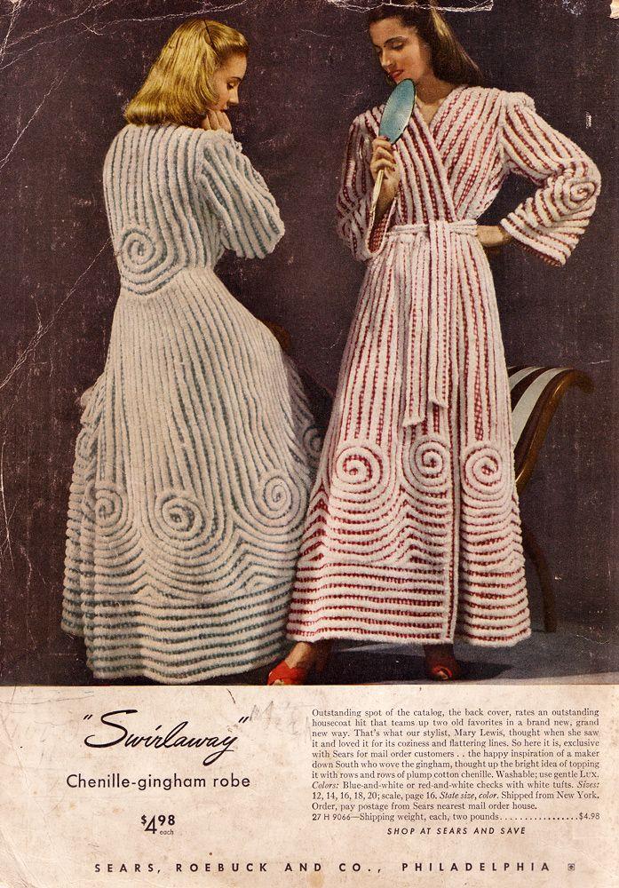 17 Best Images About Vintage Bathrobes On Pinterest