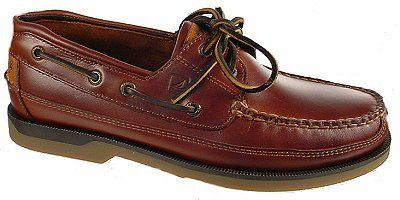 Sperry Top-Sider Men's Mako 2-Eye Canoe Moc Lace-Up,Amaretto,9.5 US
