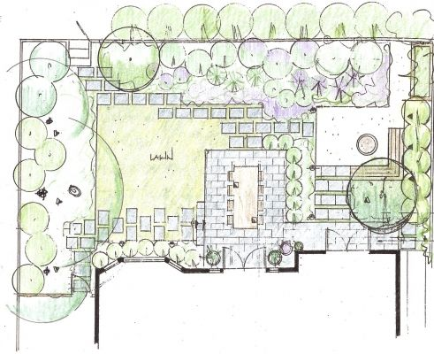 130 best ld plans images on pinterest garden design for Outer space garden design cumbria