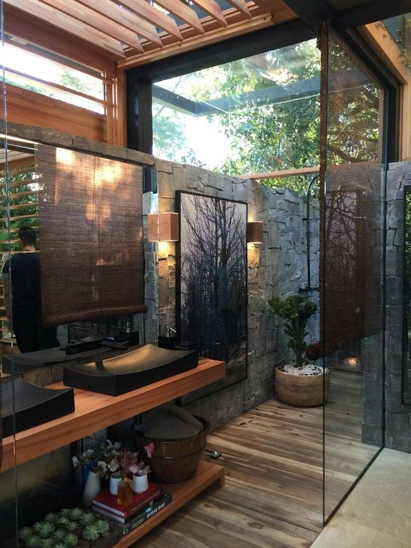 Amazing Outdoor Bathroom Shower Ideas You Can Try In Your Home Decor Around The World Outdoor Bathroom Design Outdoor Bathrooms Bathroom Design