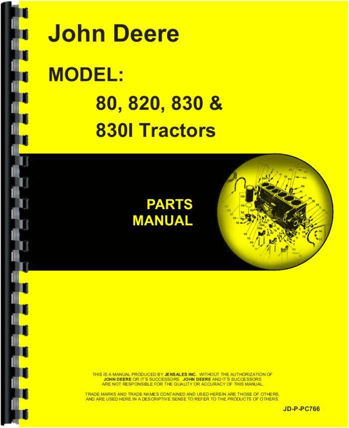 17 best ideas about john deere tractor parts john john deere 820 tractor parts manual