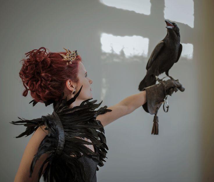 Ben jij ook geobsedeerd door de donkere kant van sprookjes? Dan mag je deze shoot niet missen! Foto: Van kaartjes tot kiekjes