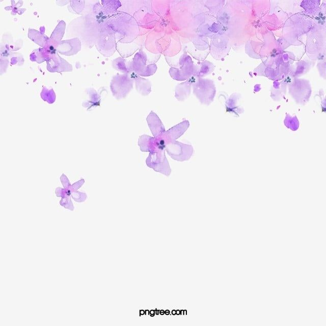 Purple Watercolor Flower Floating Material Watercolor Clipart Flower Clipart Purple Png Transparent Clipart Image And Psd File For Free Download Watercolor Flower Background Watercolor Flowers Watercolor Flower Vector