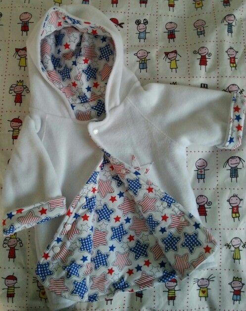 Fleecejacket for a small baby