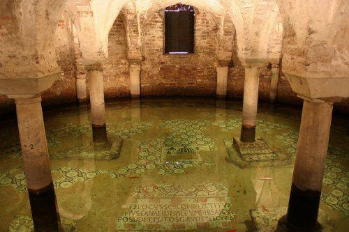 cripta della basilica di San Francesco