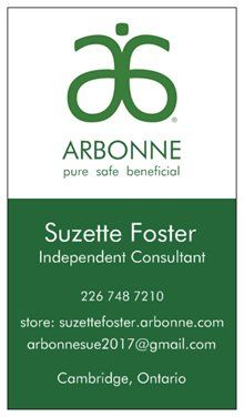 Check out my ARBONNE Store