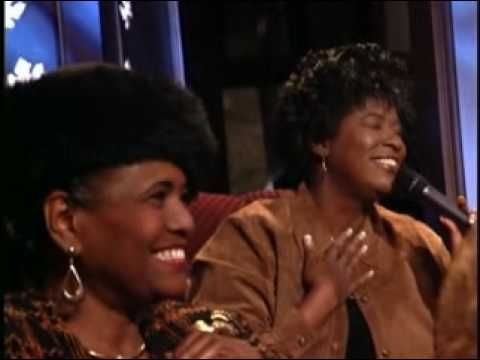 Ethel Waters.  Lynda Randle, Alicia Williamson, Lillie Knauls, (regularly perform with the Gaither Homecoming concerts) and Cece Winans sing  His Eye is On the Sparrow. Great singing by all - BEAUTIFUL.
