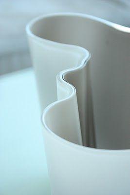Alvar Aalto vase - matte white