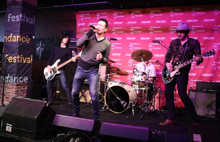 #Scott Weiland and #TheWildabouts at the #Sundance #ASCAP Music Cafe Scott Weiland and the Wildabouts perform at the Sundance ASCAP Music Cafe on Friday, January 23rd.  Photo by Erik Philbrook