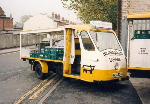 Birmingham Dairies Milk Float, great logo and livery