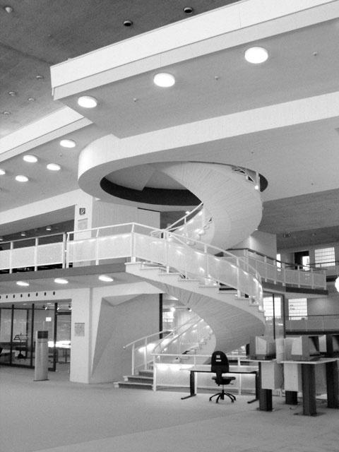 Staatsbibliothek, Berlin 1967-78  Hans Scharoun