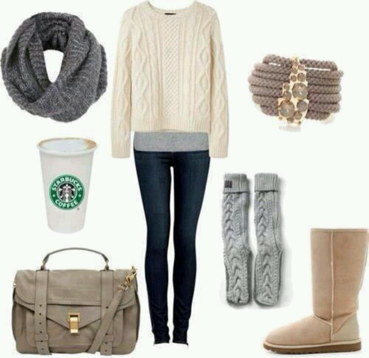 winter college outfits