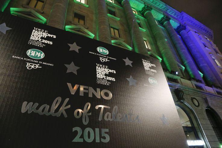 """""""Walk of Talents"""" l'evento in cui BPM e Vogue Talents hanno presentato lo scouting """"Creative women in the fashion business"""" durante la #VFNO15 #150BPM"""