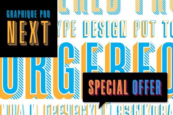 Graphique Pro Next by profonts on Creative Market