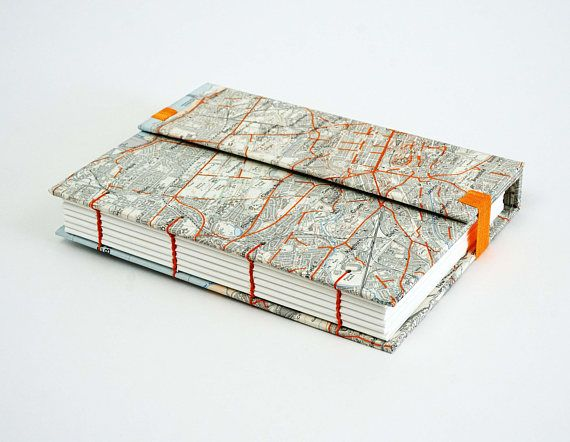 Edinburgh Travel Journal Map Notebook Travel Notebook