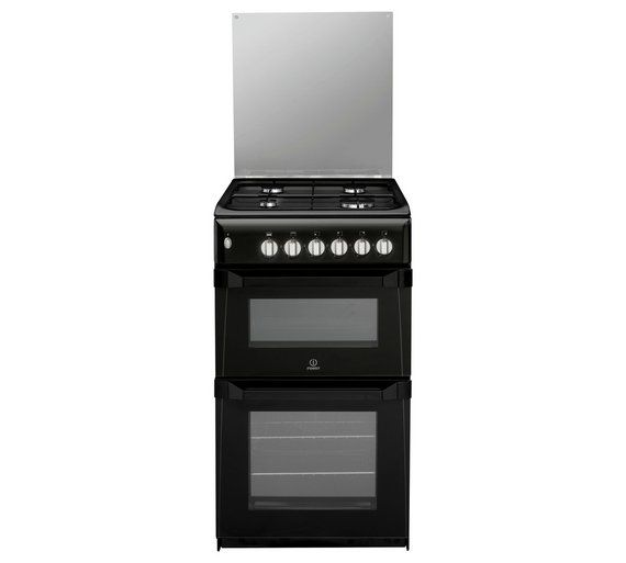 buy indesit itl50gk twin gas cooker   black at argos co uk visit the 25  best argos cookers ideas on pinterest   canned dog food      rh   pinterest nz