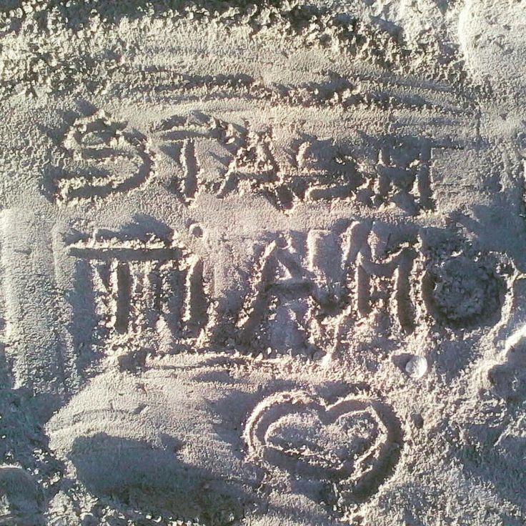 Sulla sabbia favoloso