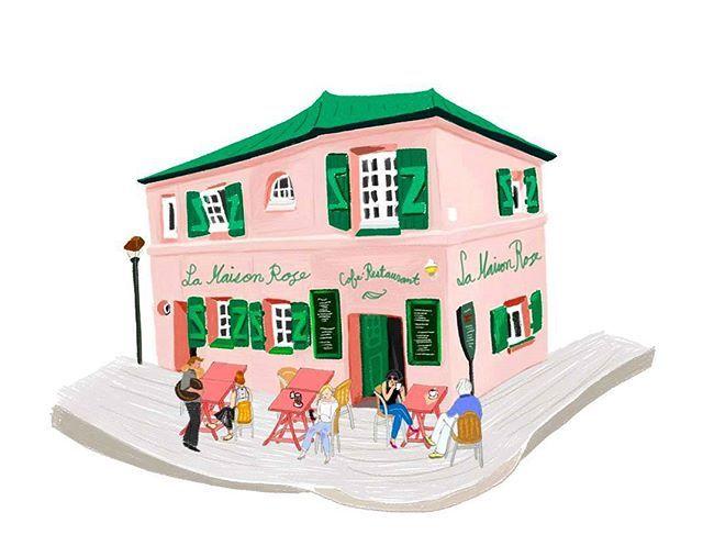 La maison rose paris - Eugenie les bains la maison rose ...