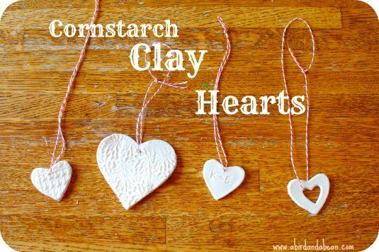 Cornstarch Clay
