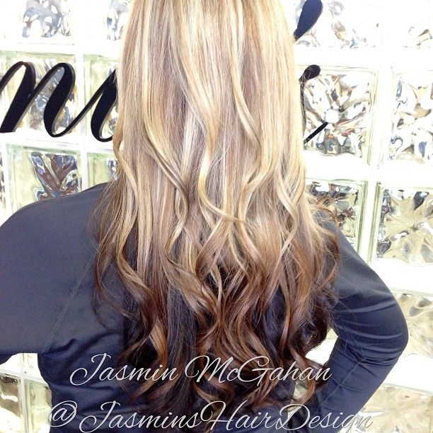 Gorgeous Platinum blonde with Reverse Ombre. # ...