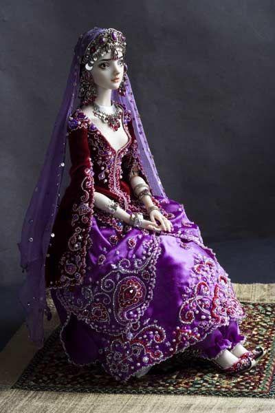 Imperial Concubine doll by Marina Bychkova