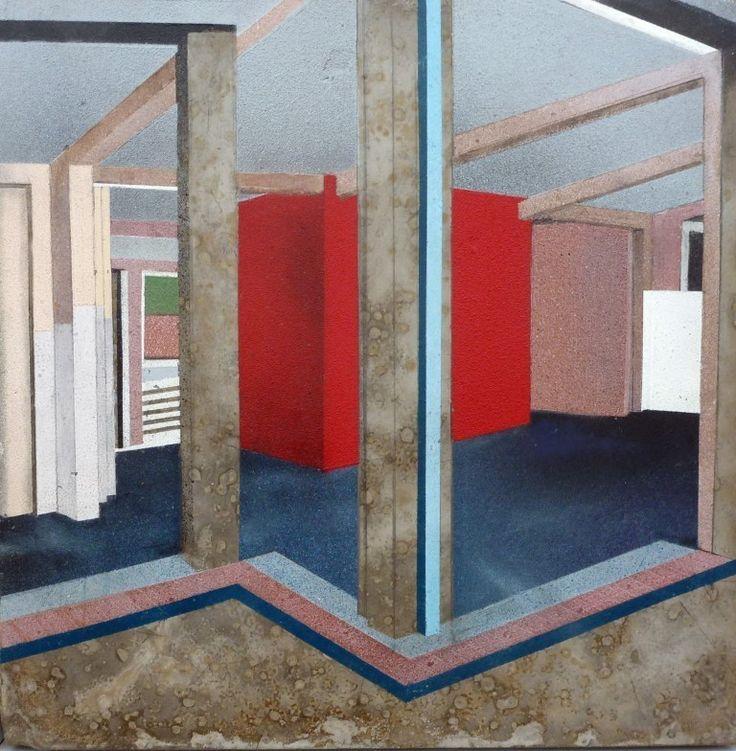 Mandy Payne's CORNERED at the RA Summer Exhibition 2015