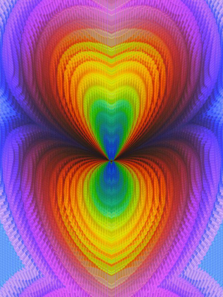 341 best colour patterns images on pinterest rainbow for Bright vibrant colors