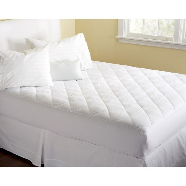 Home Fashion Designs Cassidy Collection Premium Comfort Hypoallergenic Fitted Mattress Pad