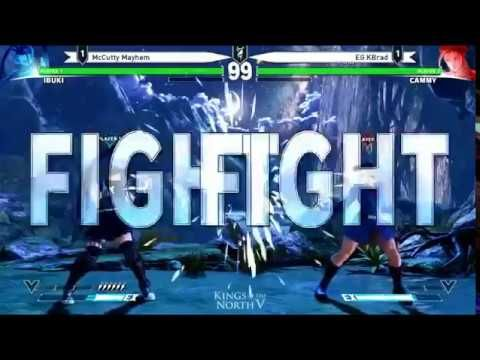 Kings of the North V Street Fighter V Top 8